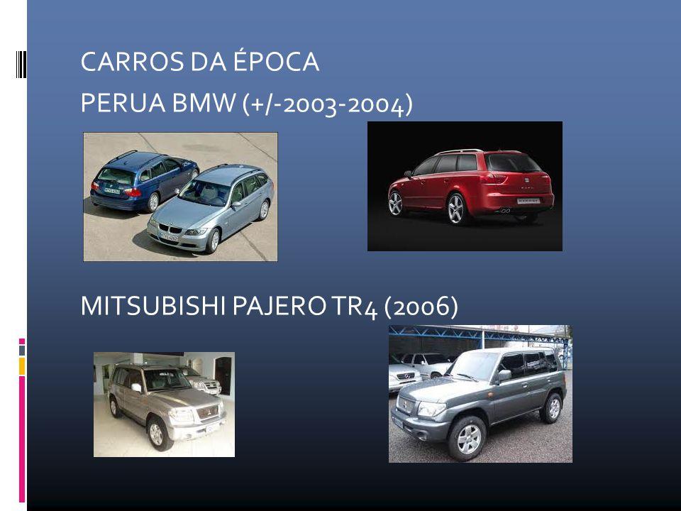 CARROS DA ÉPOCA PERUA BMW (+/-2003-2004) MITSUBISHI PAJERO TR4 (2006)