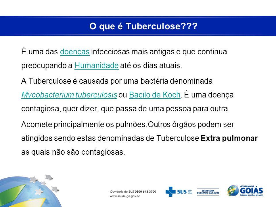 O que é Tuberculose??? É uma das doenças infecciosas mais antigas e que continua preocupando a Humanidade até os dias atuais.doençasHumanidade A Tuber
