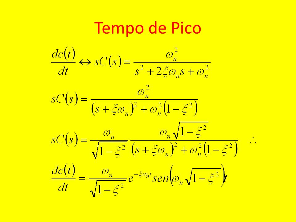 Respostas ao degrau dos sistemas T 1 (s), T 2 (s) e T 3 (s) Tempo (s) Resposta normalizada 0,5 1,0 1,5 2,02,5 3,0 0,2 0,4 0,6 0,8 1,0 1,2 1,4