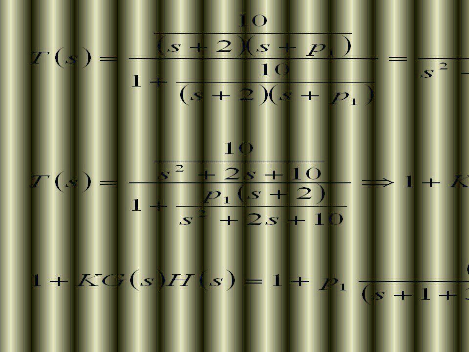 Lugar das raízes para o sistema anterior, tendo p 1 como parâmetro Plano s