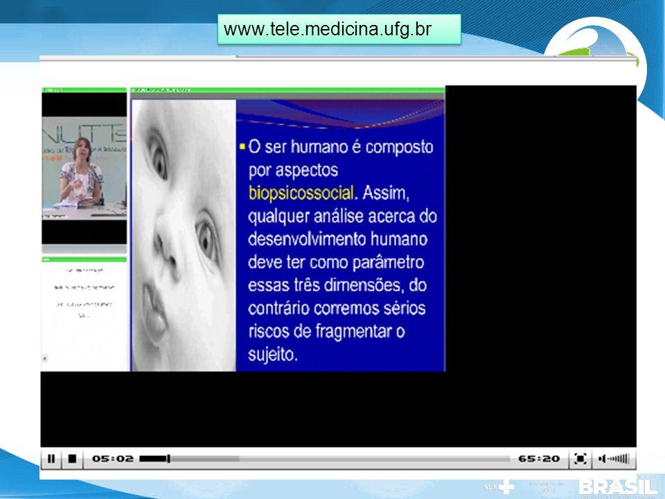 Secretaria de Gestão do Trabalho e da Educação na Saúde www.tele.medicina.ufg.br