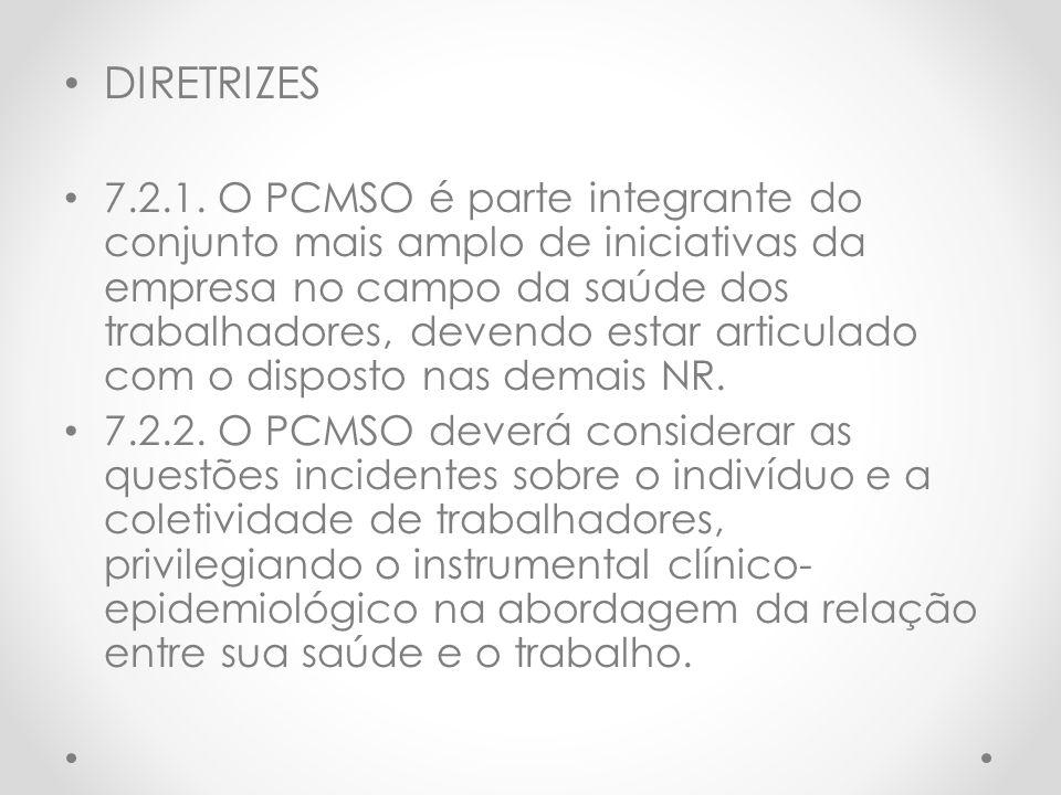 DIRETRIZES 7.2.1.