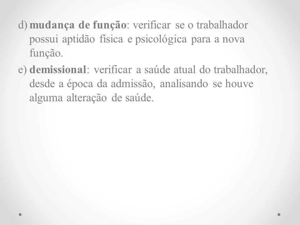 Para cada exame médico realizado, o médico emitirá o Atestado de Saúde Ocupacional - ASO, em 2 (duas) vias.