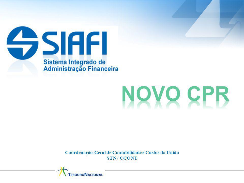 Coordenação-Geral de Contabilidade e Custos da União STN / CCONT