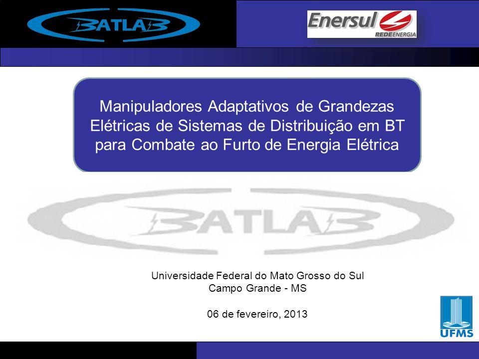 MODELING AND SIMULATION OF A GROUNDING SYSTEM USING SIMULINK Manipuladores Adaptativos de Grandezas Elétricas de Sistemas de Distribuição em BT para C