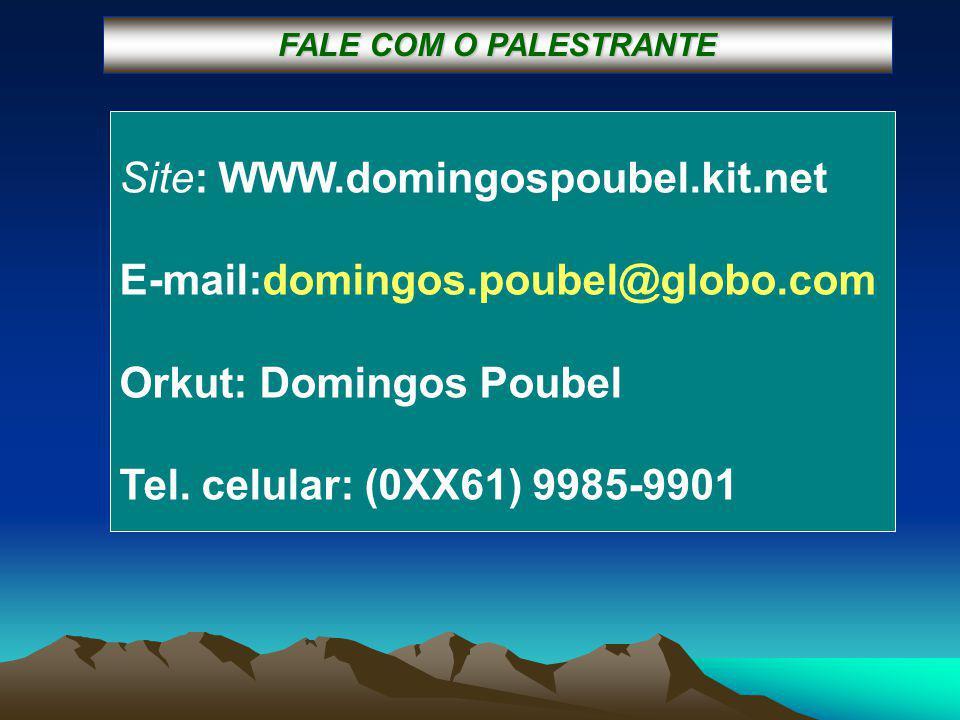 Site: WWW.domingospoubel.kit.net E-mail:domingos.poubel@globo.com Orkut: Domingos Poubel Tel.