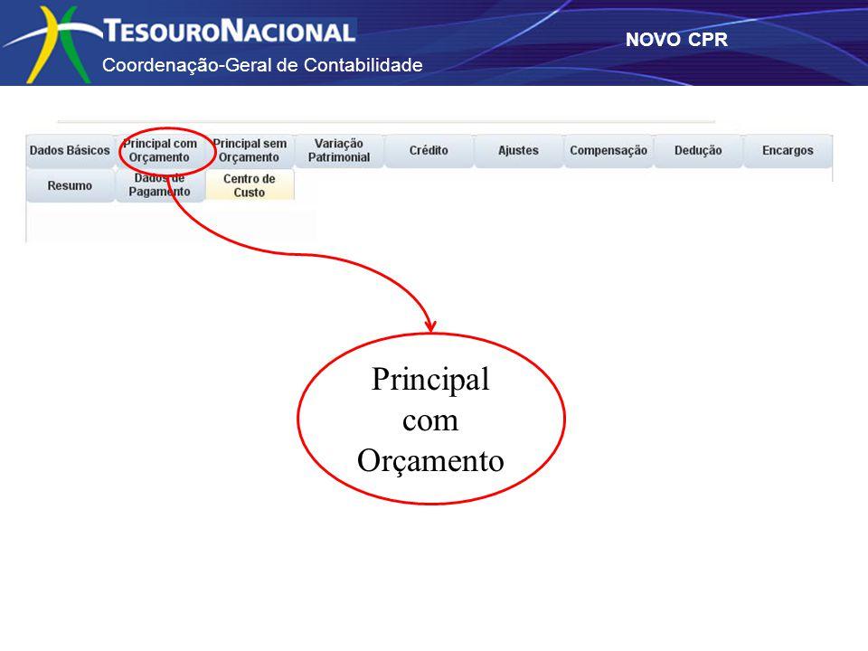 Coordenação-Geral de Contabilidade NOVO CPR Principal com Orçamento