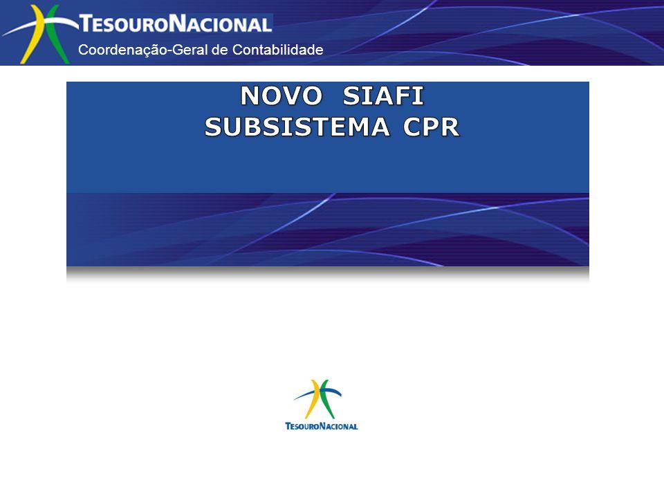 Coordenação-Geral de Contabilidade PRINCIPAL COM ORÇAMENTO Possibilidade de inclusão de várias situações no mesmo documento hábil.