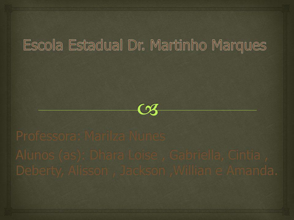 Professora: Marilza Nunes Alunos (as): Dhara Loise, Gabriella, Cintia, Deberty, Alisson, Jackson,Willian e Amanda.