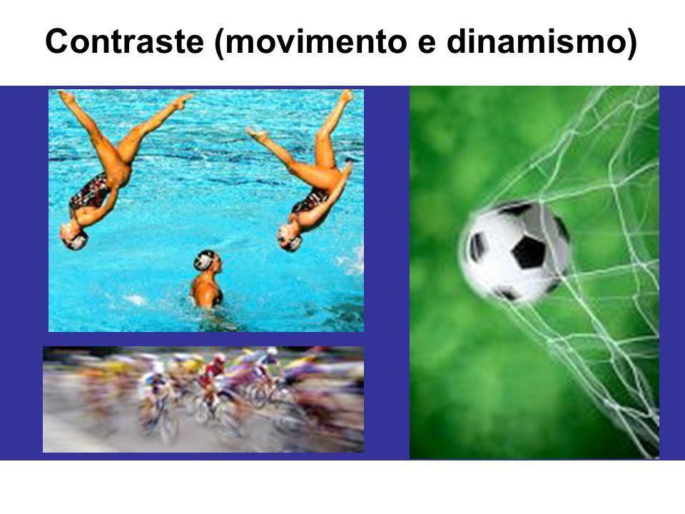 Contraste (movimento e dinamismo)