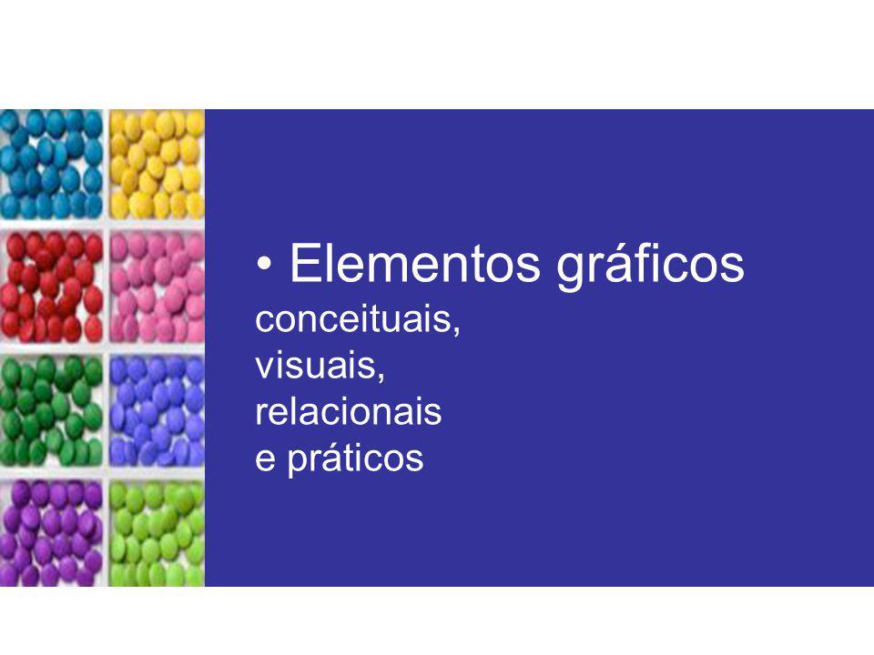 Sobreposição (elementos organizados uns sobre os outros, opacos ou transparentes)
