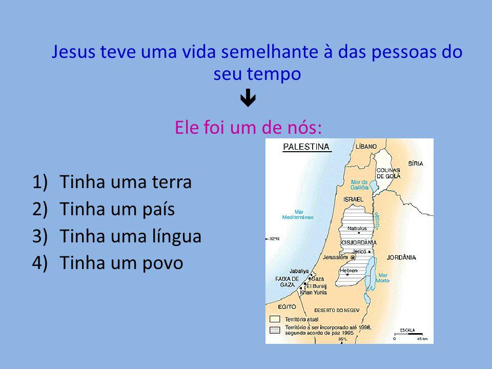 Jesus nasceu em Belém Na Palestina