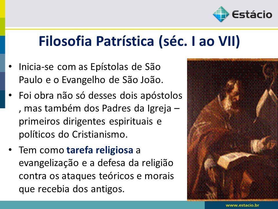 Filosofia Patrística (séc.