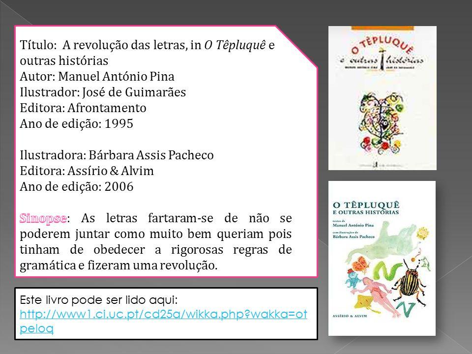 Este livro pode ser lido aqui: http://www1.ci.uc.pt/cd25a/wikka.php wakka=ot peloq