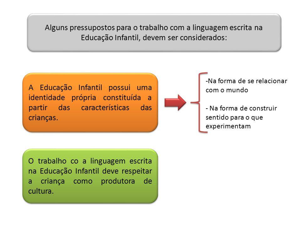 BRINCADEIRA 1 Elemento central da ação educacional.