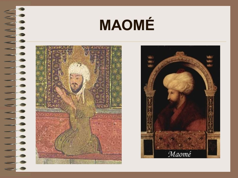 Maomé, o profeta Começou a pregar tentando divulgar sua doutrina.