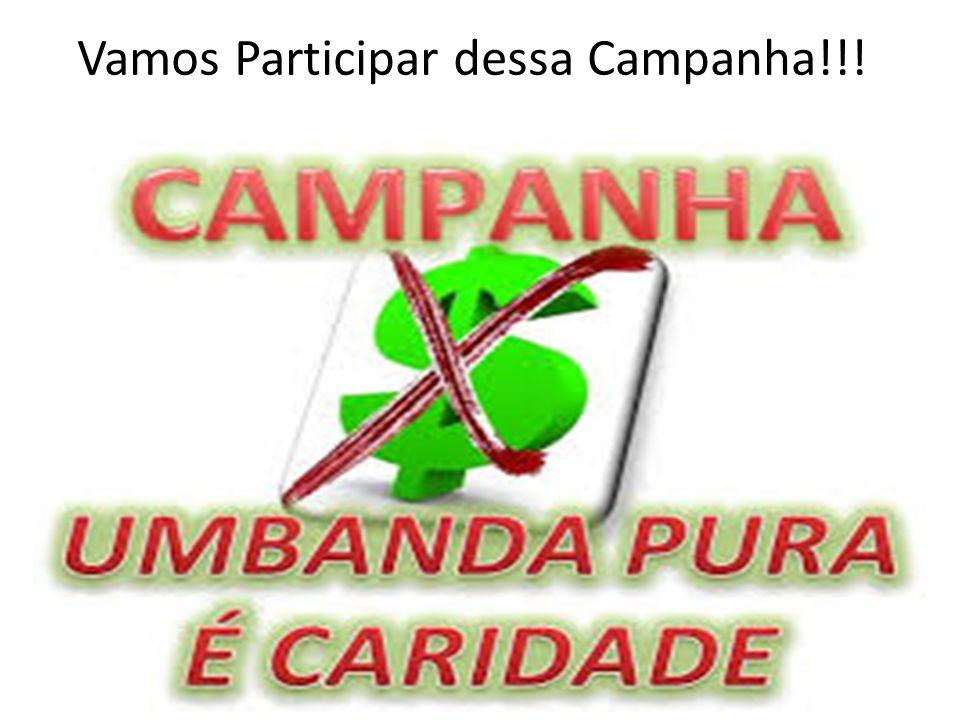 Vamos Participar dessa Campanha!!!