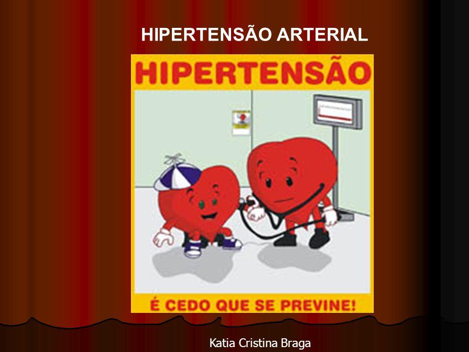 HIPERTENSÃO ARTERIAL Katia Cristina Braga
