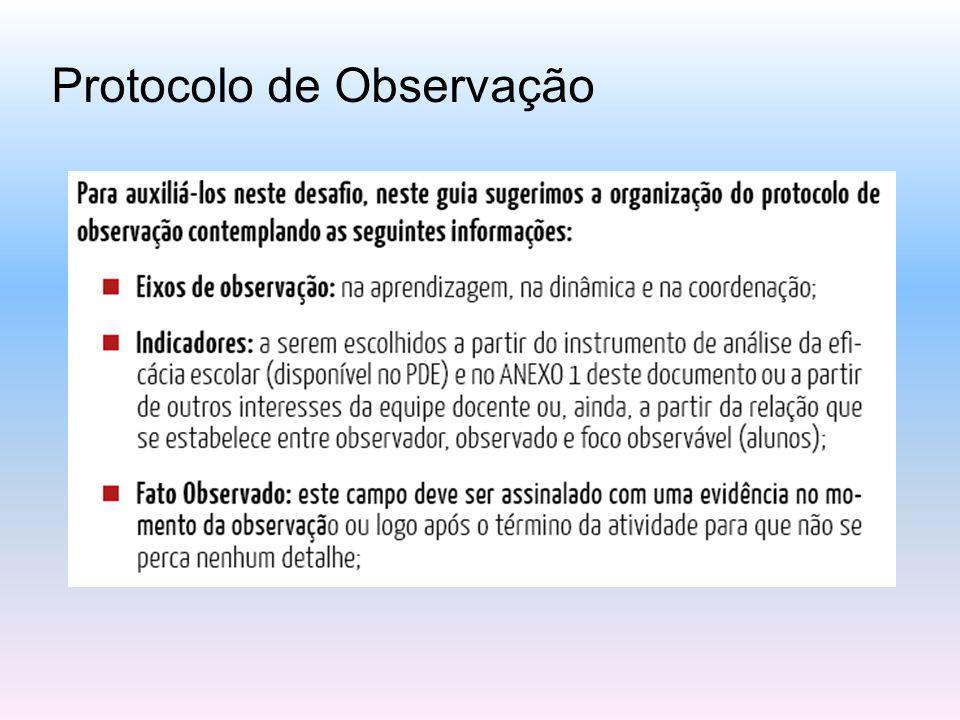 Protocolo de Observação