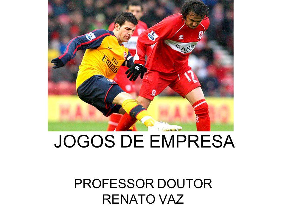 JOGOS DE EMPRESA PROFESSOR DOUTOR RENATO VAZ
