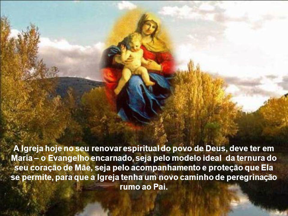 Torna-se pois, a Igreja, um outro Cristo no verdadeiro renascer para uma nova vida, onde nesse parto Maria é a grande Mãe da Igreja e dos novos filhos – os cristãos pelo batismo.