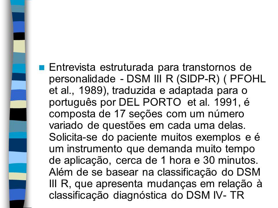 Dsm iii em portugues