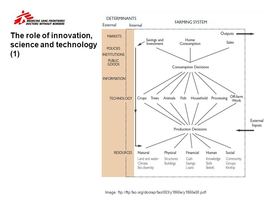 the role that technological innovations and