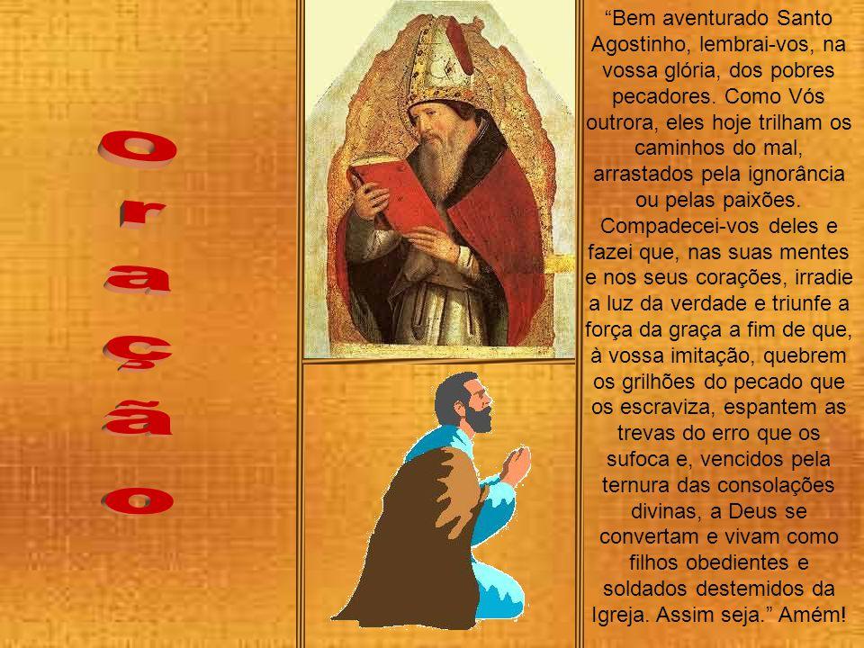Em 429 os vândalos, guiados por Genserico atravessaram o Estreito de Gibraltar e atacaram o norte africano. Agostinho, cercado com seu povo, sente ama