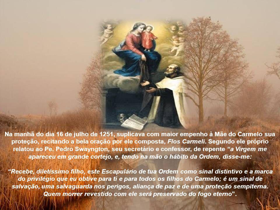 Num novo Capítulo, em 1245, foi eleito 6° Prior Geral da Ordem carmelita.