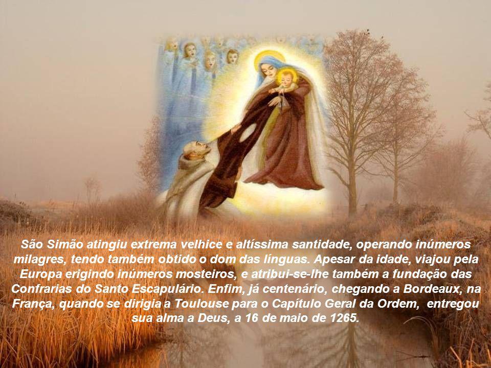 Essa graça especialíssima foi imediatamente difundida pelos lugares onde os carmelitas estavam estabelecidos, e autenticada por muitos milagres que, ocorrendo por toda parte, fizeram calar os adversários dos Irmãos da Santíssima Virgem do Monte Carmelo.