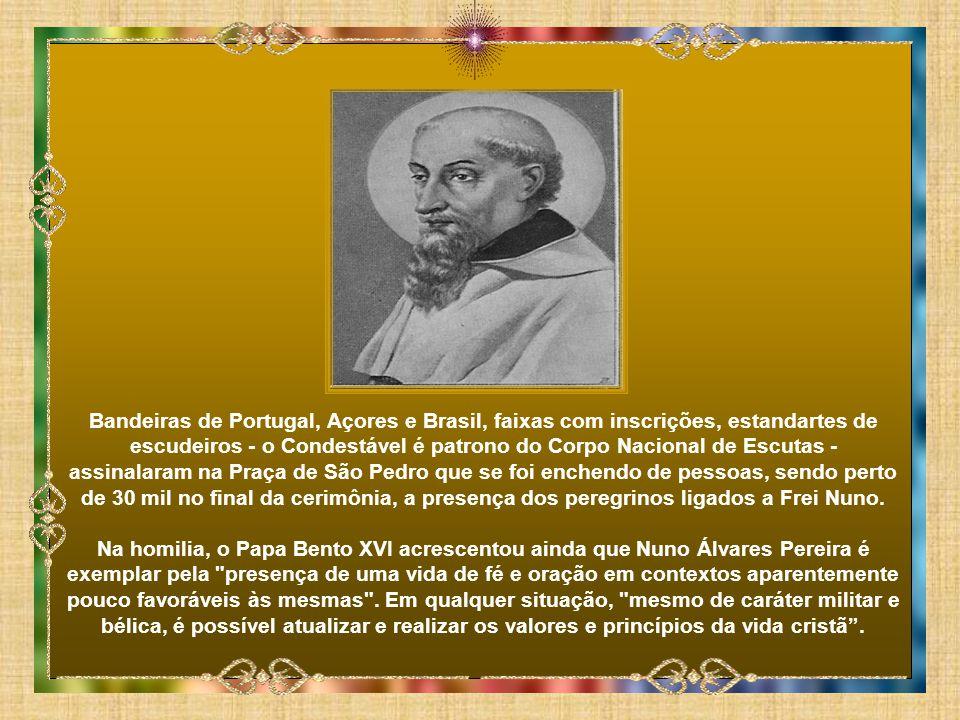 Na conferência de imprensa em Roma a propósito da canonização, o cardeal- patriarca de Lisboa, D. José Policarpo, recusara várias vezes a
