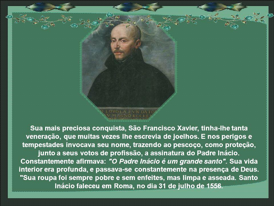 O papel dos jesuítas foi também primordial no Concílio de Trento onde brilharam os padres Laynes e Salmeron bem como nas universidades e nos colégios, imunizando assim a juventude européia contra o erro.