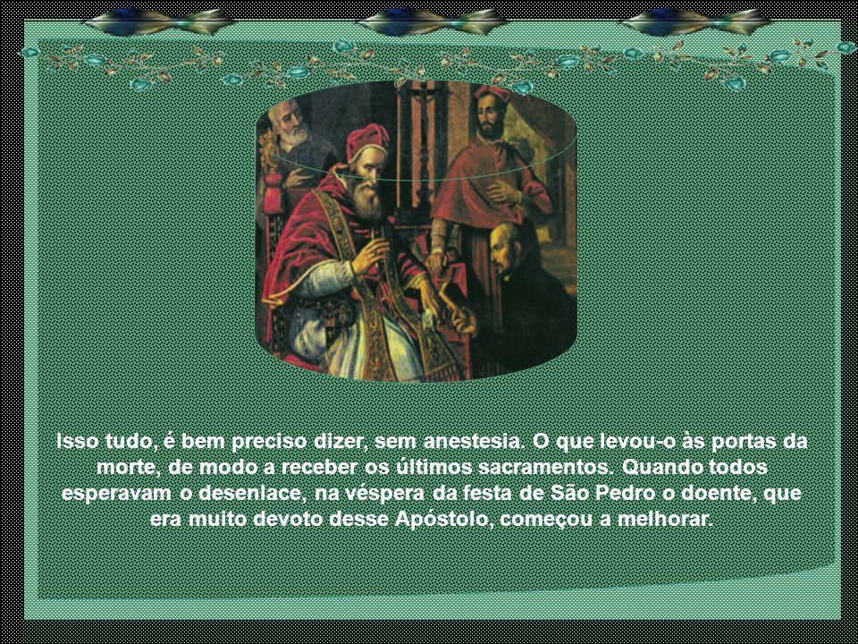 Os franceses, admirados da coragem do espanhol, trataram-no muito bem, fazendo-o levar depois, em liteira, para o castelo de seus pais.