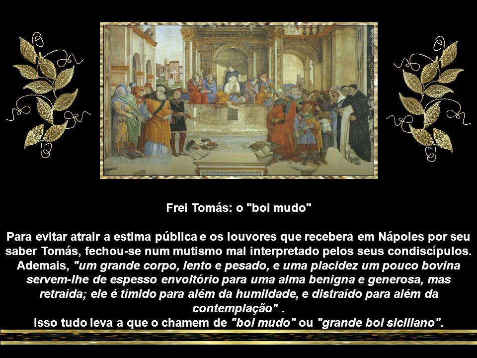 O encontro de Tomás de Aquino com Alberto Magno representa um fato de extraordinária transcendência na história da cultura.