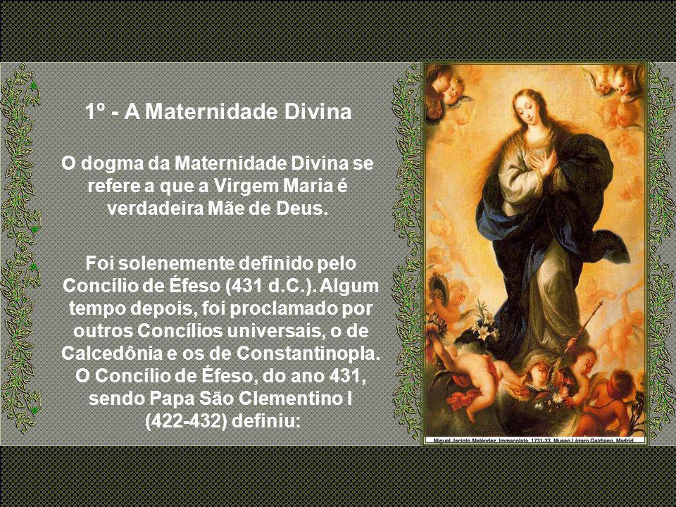 No Catolicismo, o dogma é uma verdade revelada por Deus. Com isto o Dogma é imutável e definitivo (não pode ser revogado). Para que um ensinamento da