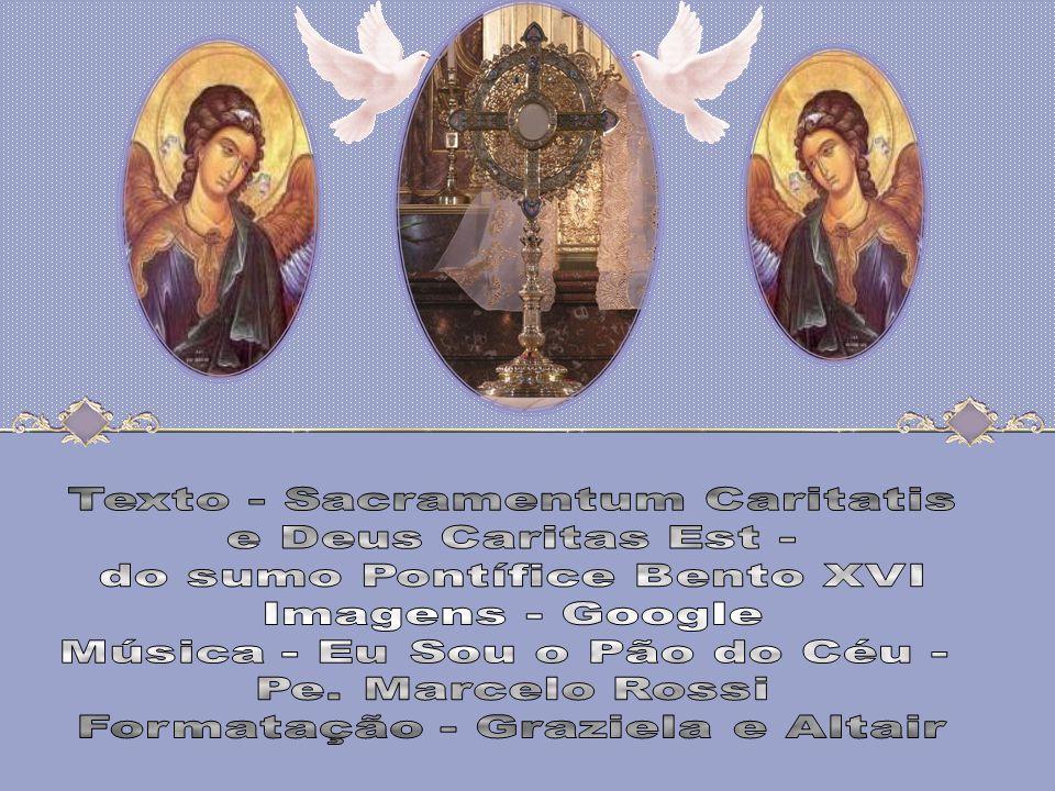 Se vês a caridade, vês a Trindade. (Santo Agostinho) O mistério da fé é mistério de amor trinitário, no qual, por graça, somos chamados a participar.
