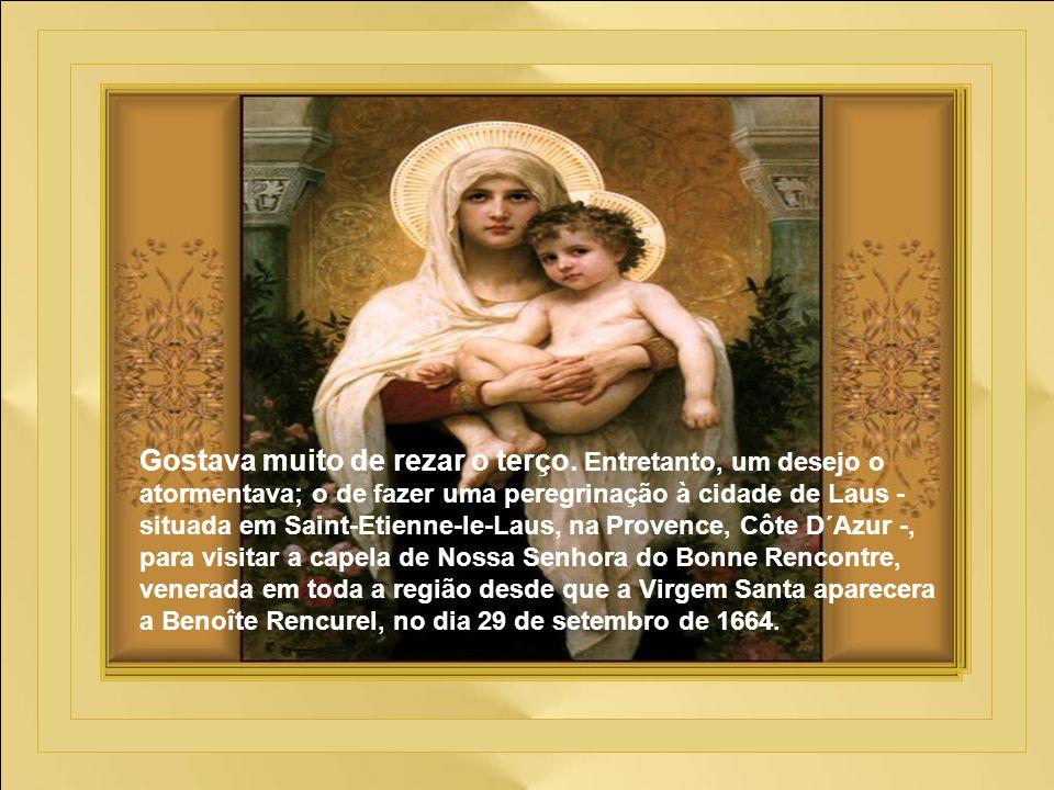 O amor pela Eucaristia cresceu no coração de Pedro Juliano paralelamente ao amor pela Virgem Santíssima. Ainda bem jovem, ele se consagrou a Maria, pr