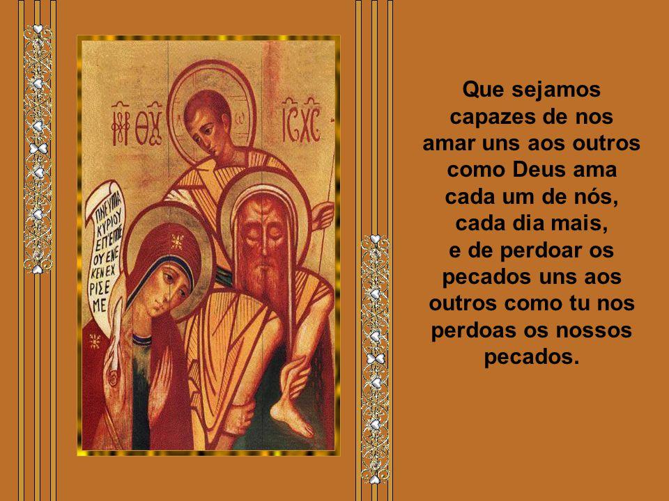 Que o coração eucarístico de Jesus torne o nosso coração manso e humilde como o dEle (Mt 11,29). Ajuda-nos a corresponder santamente à nossa vocação f