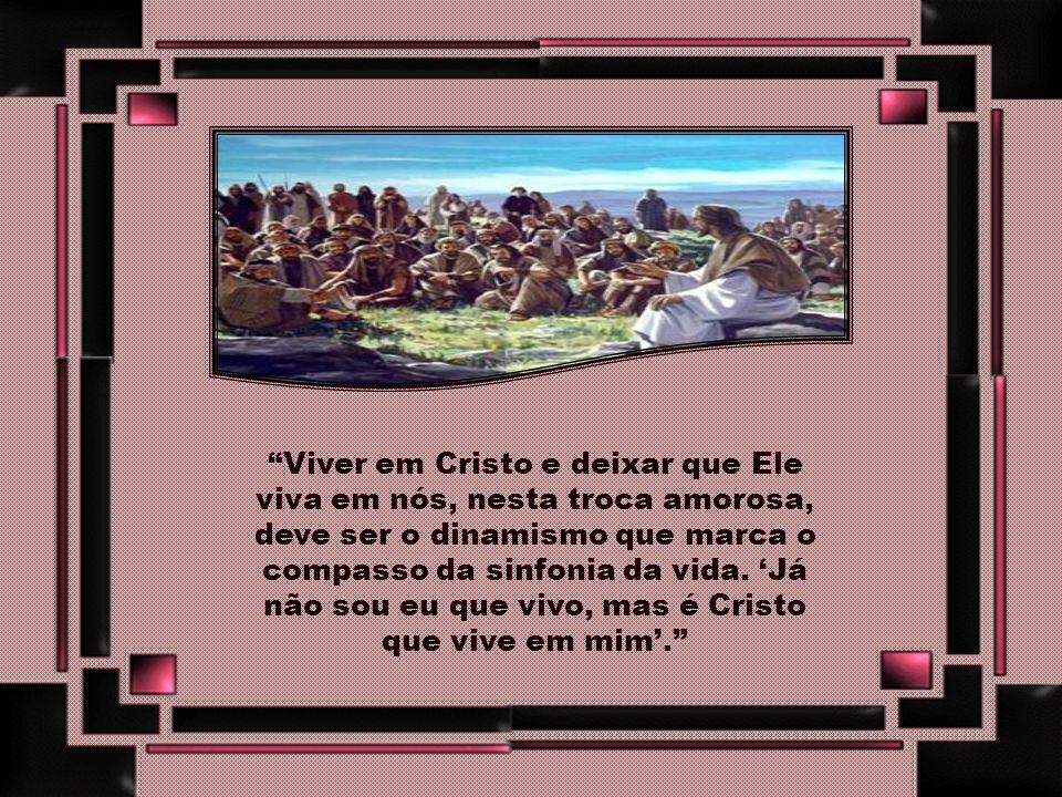 O destino de cada discípulo/missionário está, pois, configurado ao Senhor na sua condição de servo, naquela entrega sem reservas de sua vida em obediê