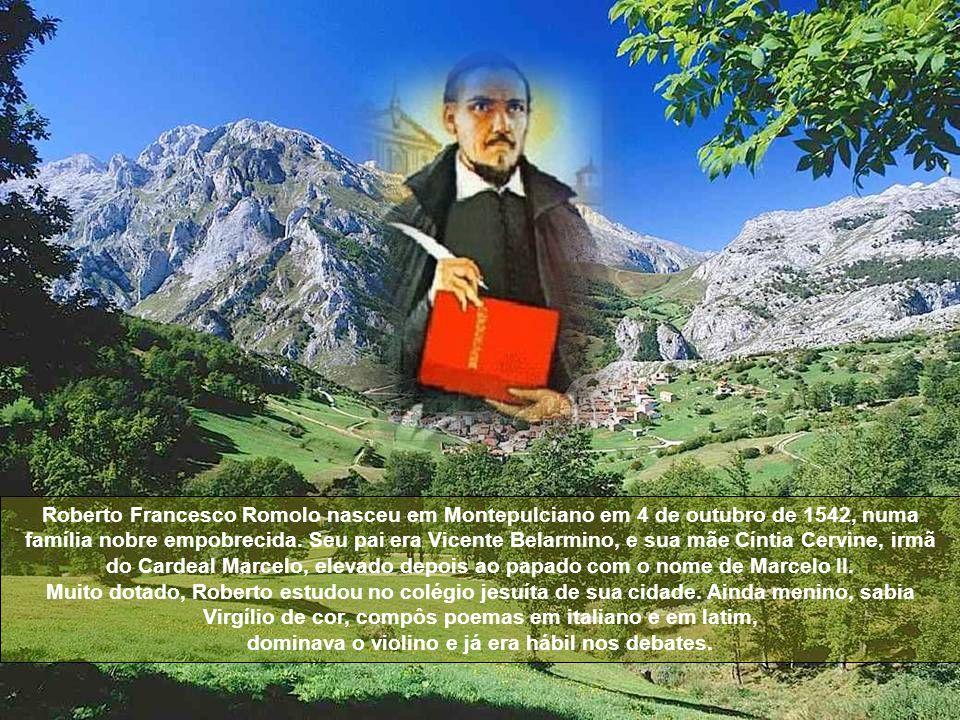 São Roberto Belarmino, maior polemista da história da Igreja.