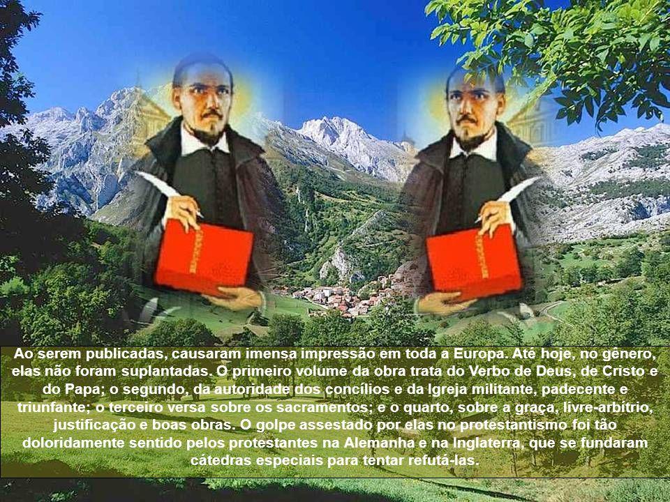 Suas prédicas excitavam tão vivo entusiasmo, que os próprios protestantes viajavam da Inglaterra e da Holanda para ouvi-lo.