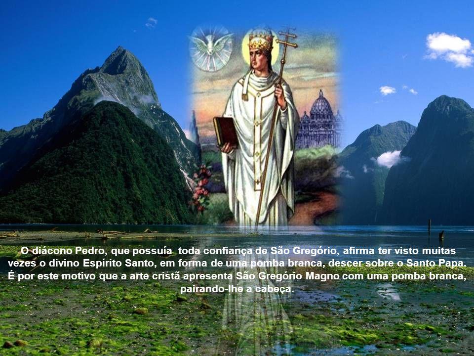 De uma atividade admirável, Gregório Magno achou tempo ainda para compor numerosos livros, cheios de sabedoria e santidade. Após um pontificado abenço