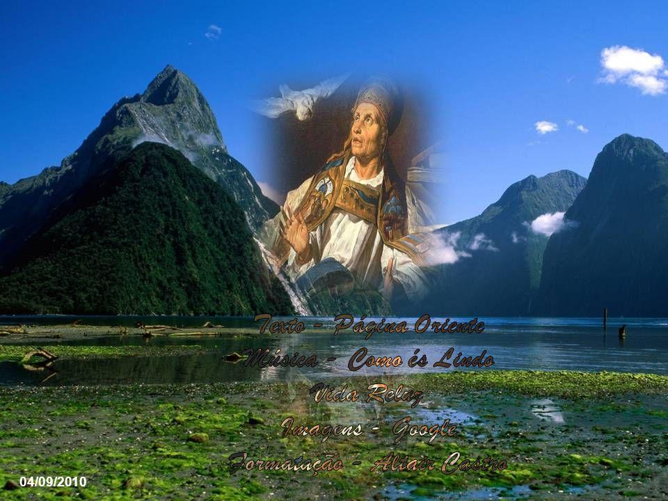 O diácono Pedro, que possuía toda confiança de São Gregório, afirma ter visto muitas vezes o divino Espírito Santo, em forma de uma pomba branca, desc