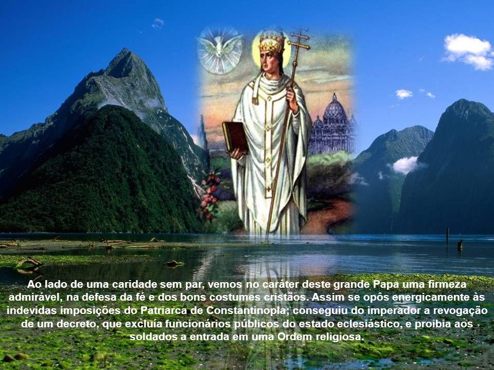 O pontificado de Gregório traz o estigma da caridade. Caridoso para com todos, era amado como um pai. Católicos hereges e judeus, dirigiam-se-lhe chei