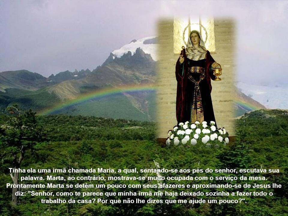 Em algumas ocasiões Marta é mencionada no Evangelho, e elas são inesquecíveis, pois alimentam a piedade e contemplação cristã através dos séculos. O e