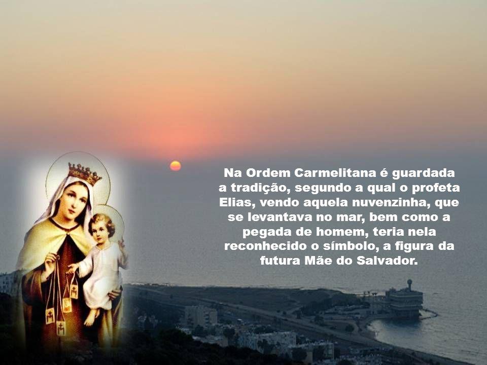 Caríssimos, A festa de Nossa Senhora do Carmo prende-se intimamente à Ordem Carmelitana, cuja origem remonta aos tempos antigos, envolvidos em nuvens