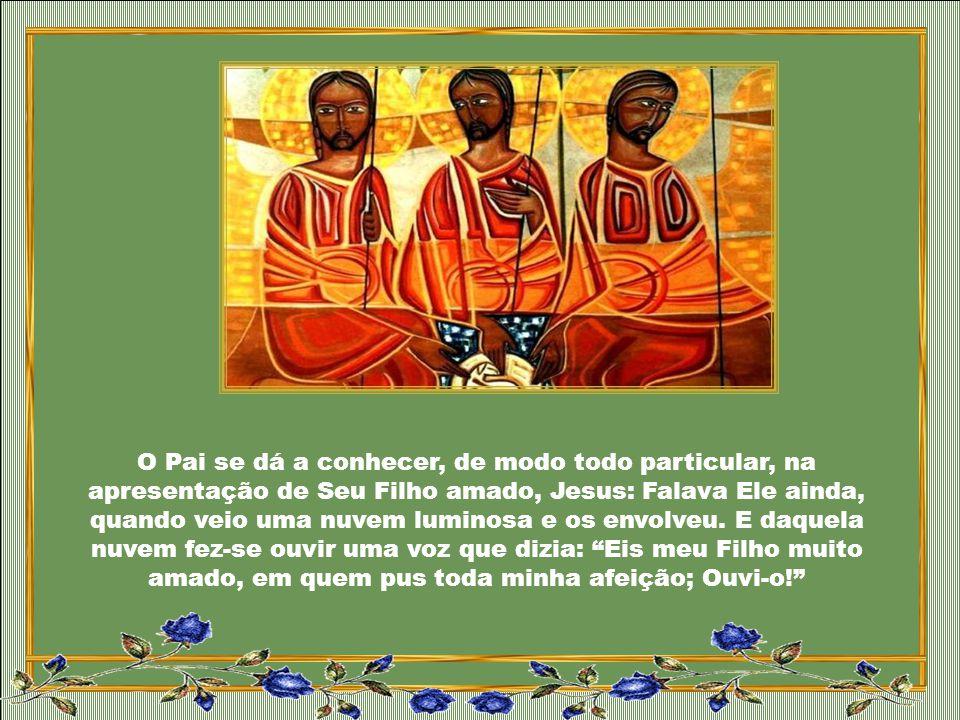 A nossa grande vocação é ser filho do Pai, irmão de Cristo, templo do Espírito Santo. Não há graça maior do que participar da família divina. Bendito