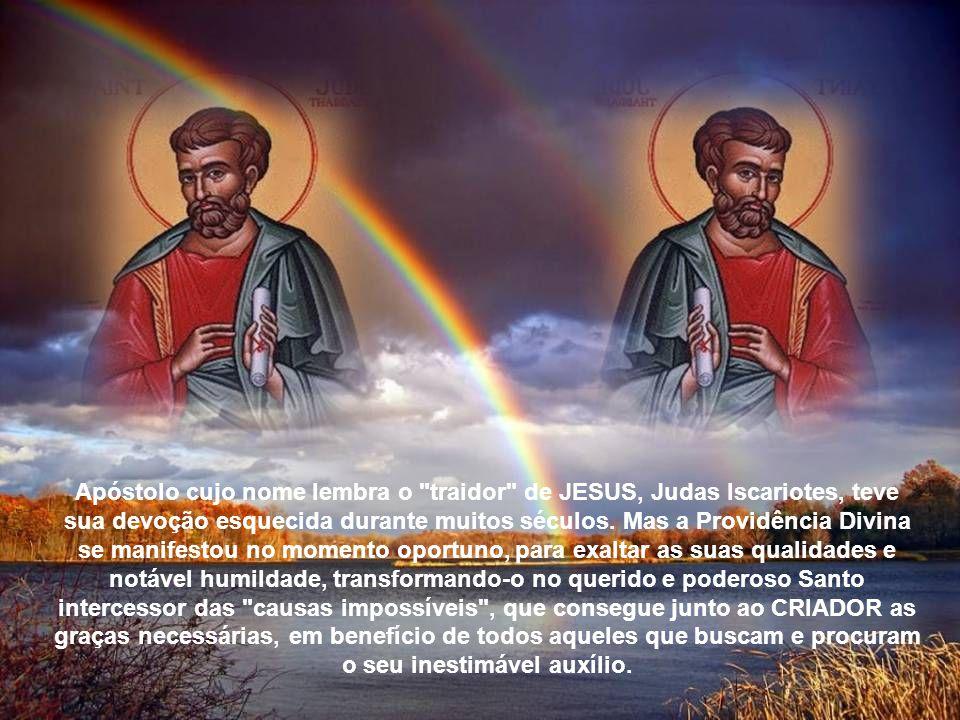 A pregação e o testemunho de São Judas Tadeu, foi realizado de modo enérgico e vigoroso, que atraiu e cativou os pagãos e povos de outras religiões que se converteram ao cristianismo.
