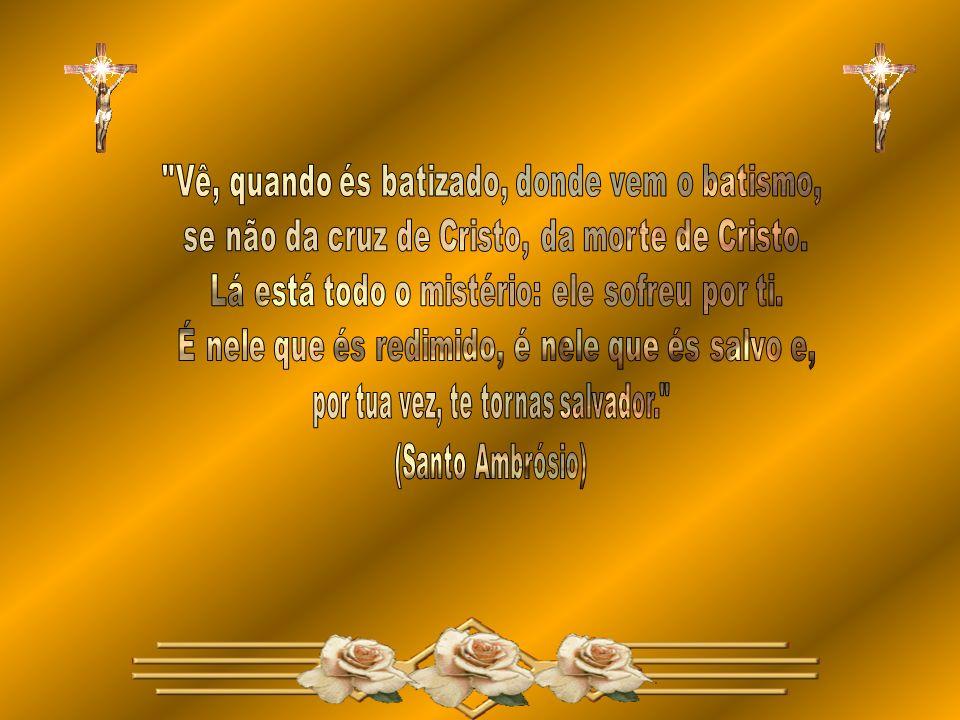 O Batismo nos torna, participantes do corpo místico de Cristo e membros do povo de Deus.