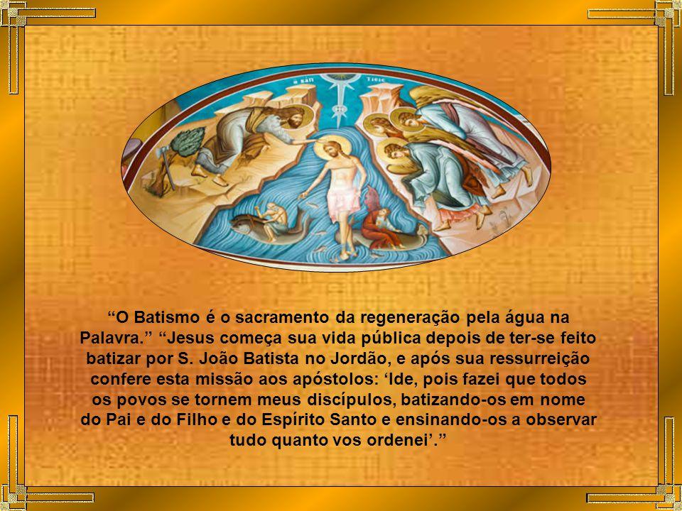 A participação na natureza divina, que os homens recebem como dom mediante a graça de Cristo, apresenta certa analogia com a origem, o desenvolvimento e a sustentação da vida natural.
